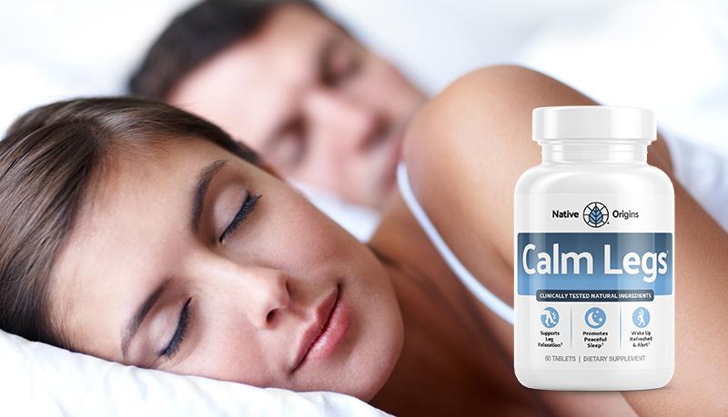 Calm Legs sleep support